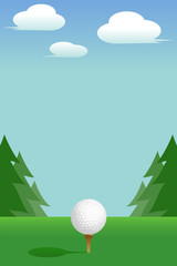ゴルフ:Tee(Golf:Tee)