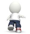 3D guy walking
