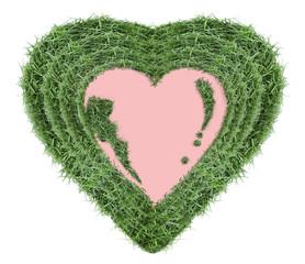 heart shape-photo frame