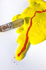 Colori giallo e rosso