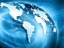 """Постер, картина, фотообои """"Best Internet Concept of global business from concepts series"""""""