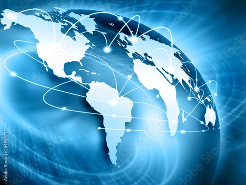 Bestes Internet-Konzept des globalen Geschäfts von den Konzeptreihen