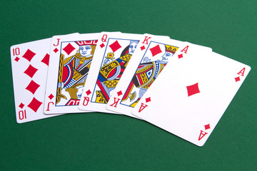 Still IMAGE - four cards with kings
