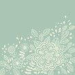 roleta: Light floral background