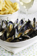 mussel seafood dinner