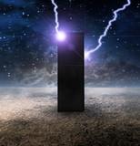 High Resolution Strange Monolith on Lifeless Planet
