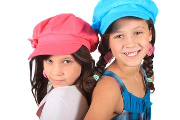 Sweet little sisters