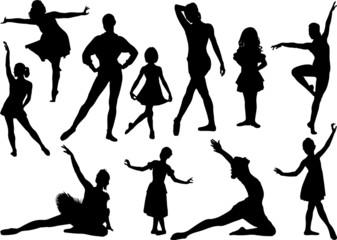 Ballet sulhouette 2