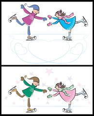 Ice-skating Couple