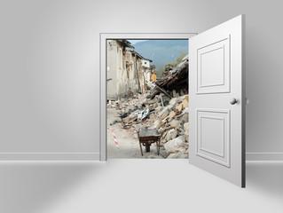 Visione di un terremoto