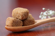 Sugar collection - brown cubes