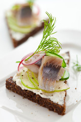 Herring sandwich