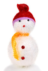 toy decoration snow man