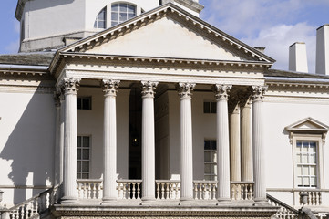 architectural details of Chiswick House