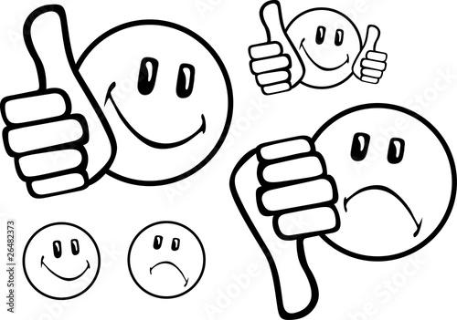 GamesAgeddon  smiley top flop 2  Lizenzfreie Fotos Vektoren und