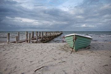 Boot in Zingst