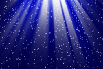 christmas background dark blue