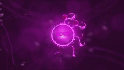 Love circle spiral