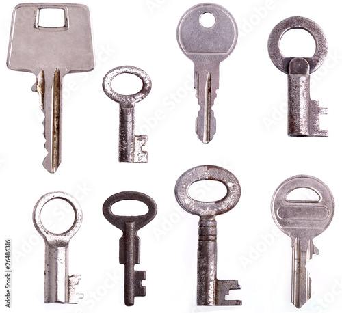 Collection of different keys