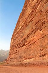 Desert rock formation - Wadi Rum, Jordan