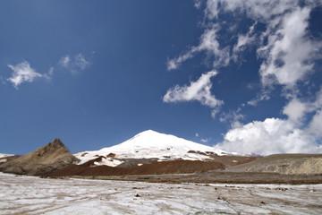 Peak Elbrus - highest point in Russia and Europe