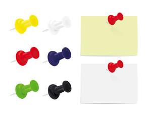 Thumbtacks and Notes