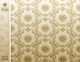 seamless background Pattern beige