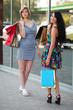 Two young shoppers.