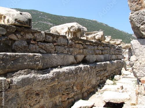 Постер, плакат: часть древнего города, холст на подрамнике