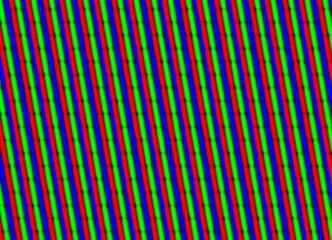 TV screen close up concept