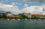 Uto-Quai seen from Zurich see port