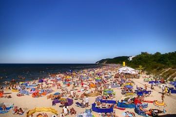 beach Międzyzdroje (Poland)