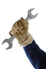 worker hand