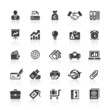 Black Web  Icons -  Business & Communication