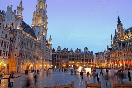 Grand Place, Grote Markt,  Brussels,  Belgium,  Europe