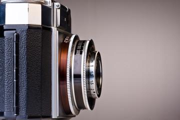 Vintage Camera Side View