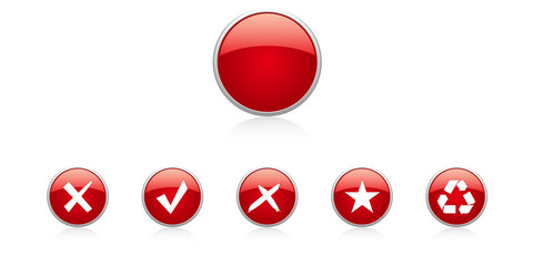 Set red buttons