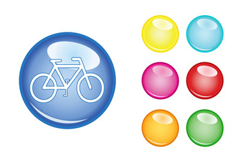 Orb sign bicycle