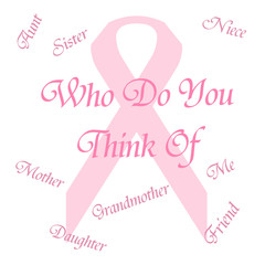 pink ribbon remember