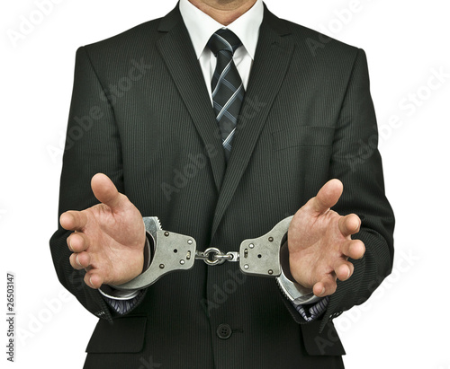 Managed handcuffed