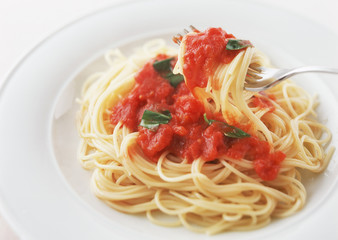 spaghetti al dente