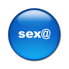 Boton brillante texto sex@