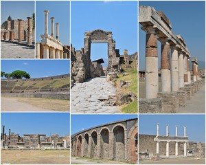 Pompei - Sito archeologico - Napoli - Italia