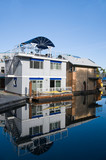 Float homes or marina village