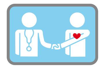 Salute - Dottore e Paziente - icona2