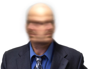 Business man unsure which way to turn