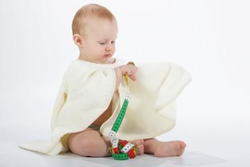 Cédric-Mètre serviette