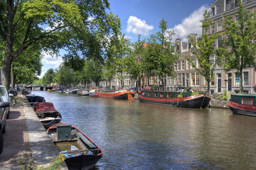 Quiet Amsterdam Canal