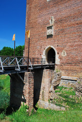 Bridge and entrance to Montaner fortress