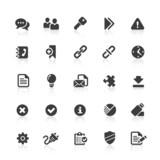 Black Web Icons -  Office & Internet
